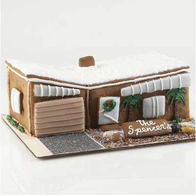 Mid-century Modern Gingerbread House! | ThisNext