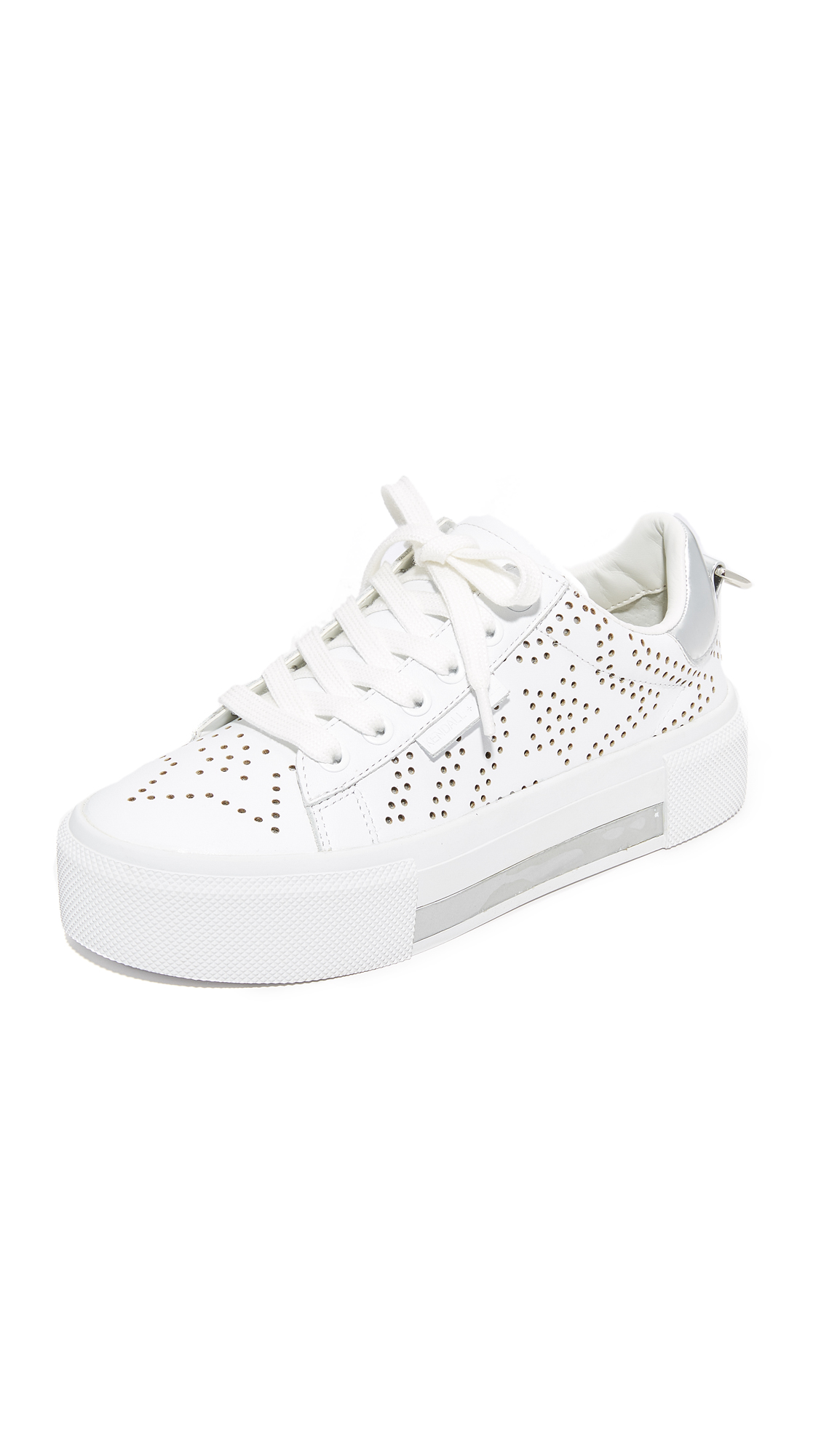 Kendall + Kylie Tyler Star Sneakers in White